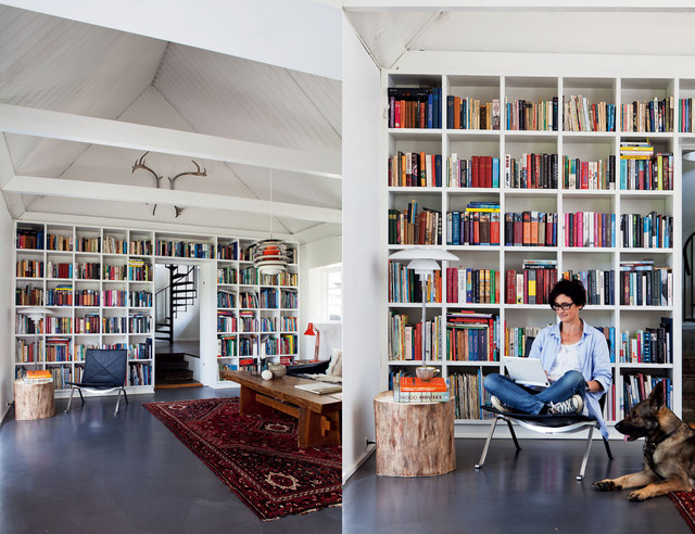 Marvellous superior modern home office library designs for Office design houzz