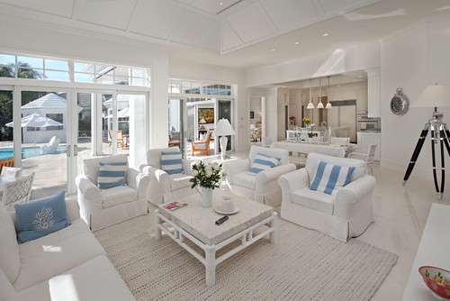 8 Beach Homes That Donu0027t Come Close To Making Us Seasick (PHOTOS - beach theme living room