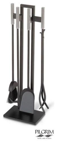 Modern Tools in Matte Black - Modern - Fireplace ...