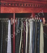 Custom designed Man's Tie Cabinet - Traditional - Closet ...