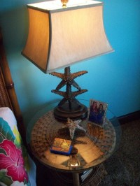 Starfish Table Lamp - Tropical - Bedroom - orange county ...