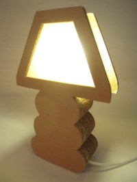 Cardboard Boho Lamps - Contemporary - Table Lamps - other ...