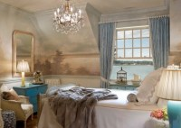 Murals traditional-bedroom
