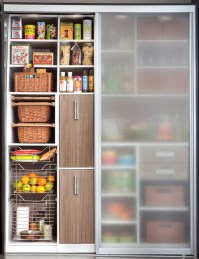 Pantry Sliding Doors - Modern - Kitchen - other metro - by ...