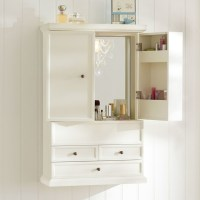 Hannah Beauty Wall Cabinet - Bathroom Cabinets And Shelves ...