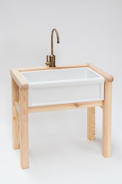 Herbeau Wooden Stand For 4603 Farmhouse Sink Farmhouse