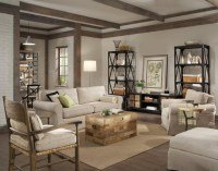 Industrial Style Eclectic Living Room - Eclectic - Living ...