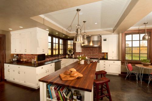 backsplash real red brick tile awesome kitchen backsplash ideas decoholic