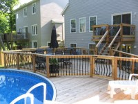 500 sq ft backyard pool - Traditional - Porch - ottawa ...