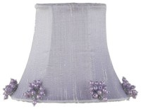 Lavender Pearl Burst Chandelier Shade - Modern - Lighting ...
