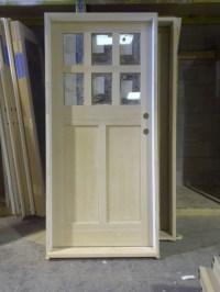 Solid 6 Lite Kerrisdale Shaker - Modern - Front Doors ...