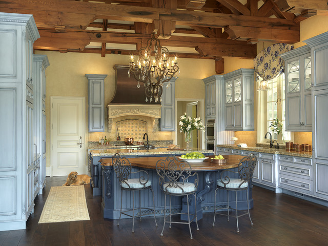 Kitchen Remodeling St Louis French Chateau - Traditional - Kitchen - St Louis - By