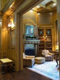 Oak Paneled Living Room - Traditional - Living Room - new ...