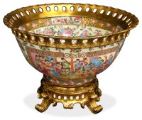 Ormolu Decorative Porcelain Bowl - Asian - Decorative ...