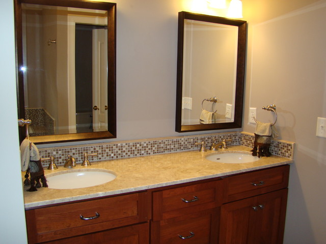 Bathroom Vanity tops and backsplashes