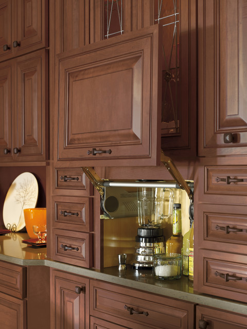 How To Fit Kitchen Wall Cabinets Decora Cabinetry - Traditional - Kitchen - Indianapolis