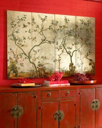 Asian Wall Panels - Traditional - Artwork - by Horchow