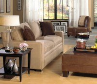 Barclay Fabric Sofa, Cole Armless Leather Chair, Drew ...