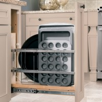 KraftMaid: Base Tray Pull-Out - Traditional - Kitchen ...