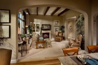 French Inspired Living Room - Traditional - Living Room ...