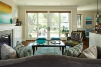 House of Turquoise Living Room - Traditional - Living Room ...