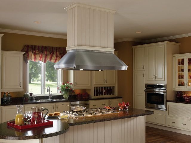 Kitchen Island Range Hoods Best Range Hoods: Centro Island Hood With Drywall Finish