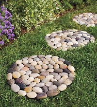 River Rock Stepping Stones - Outdoor Products - by Plow ...