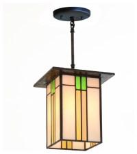 Prairie Mission Lantern, #657 - Craftsman - Pendant ...