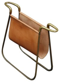 Carl Aubock Magazine Holder contemporary-magazine-racks