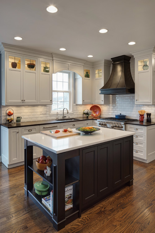 Stainless Steel Topped Kitchen Islands Photos: Proof Your Kitchen Countertops Don't Have To Match