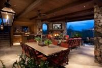 Outdoor Living Room - Mediterranean - Patio - other metro ...