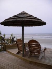 Thatch Umbrella - Natural - Tropical - Outdoor Umbrellas ...