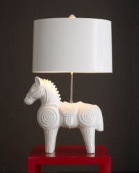 Jonathan Adler Trojan Horse Lamp - Traditional - Table ...