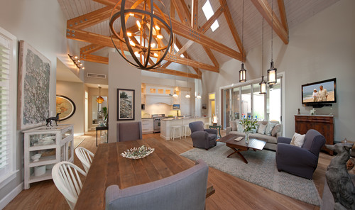 Fabulous Friday Troy Lighting Flatiron Brings Rustic Industrial Style & Fabulous Friday: Troy Lighting Menlo Park in a Farmhouse - Lights ... azcodes.com