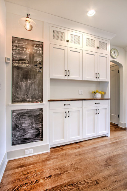 Building Traditional Kitchen Cabinets Tudor Kitchen - Pantry Wall - Traditional - Kitchen - seattle - by ADAPT Architecture