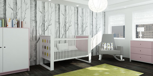 Black And White Tree Wallpaper Once Upon A Time Design Dilemma Chic Nurseries Home Design Find