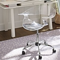 Acrylic Swivel Chair - Office Chairs - other metro - by PBteen