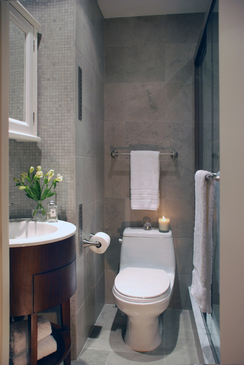 12 Design Tips To Make A Small Bathroom Better - small bathroom ideas with shower