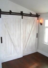 barn door type closet doors | Roselawnlutheran
