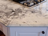Super White Granite Kitchen Countertops