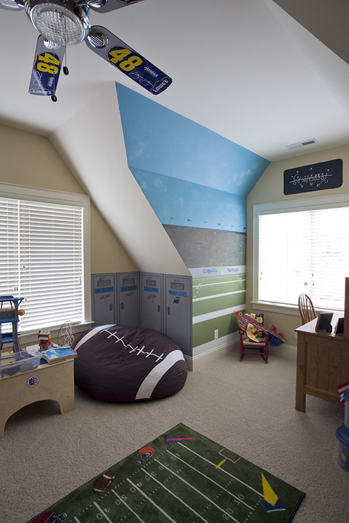 Charlotte Interior Designers 20+ Boys Football Room Ideas - Design Dazzle
