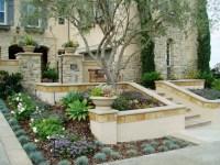 Tuscan Front Yard Landscape Design PDF