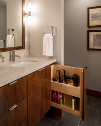 Modern Minneapolis Ranch - Contemporary - Bathroom ...