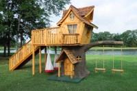 Bungalow-Style Tree House - Eclectic - Landscape - dallas ...