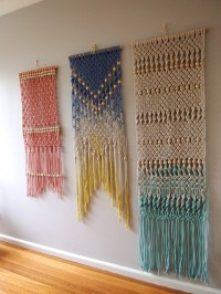 Macram Wall Hanging by ouchflower