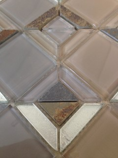Triangle pattern rocky mountain mosaic contemporary