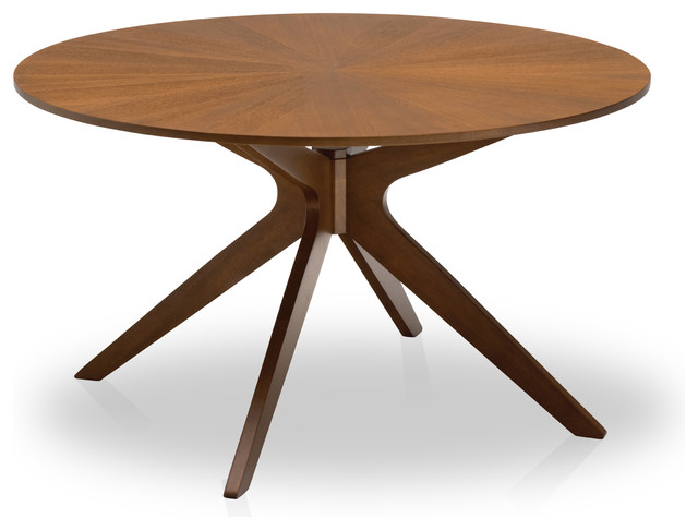 Conan round dining table midcentury dining tables by