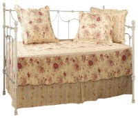 Greenland Home Antique Rose Daybed Set, 5-Piece Daybed ...