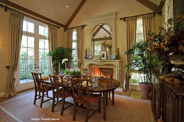 Traditional Country Dining Room Furniture French Country Style Home- Extreme Remodel 9316 - Traditional - Dining Room - san francisco - by ...