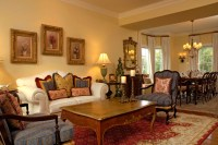 Mahoney French Country Living & Dining Room